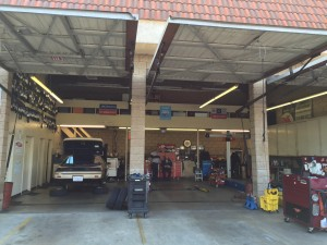 Clean Auto Repair Shop Service Bays Covina