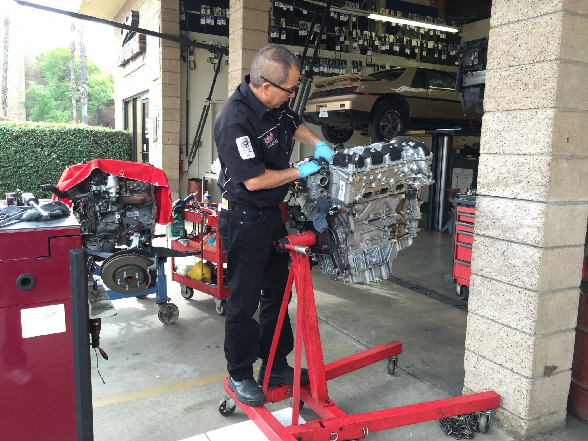 Camaro motor replacement