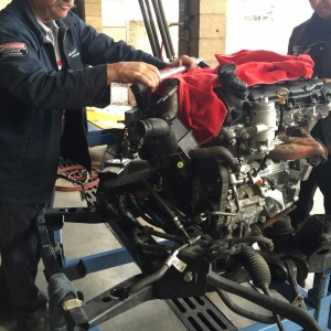 Camaro engine replacement