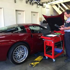 Corvette computer service