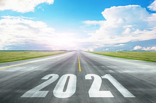 Open Road With 2021